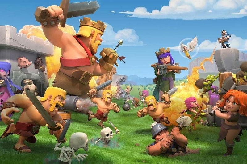 Clash of Clans Mobile Games to Play With Friends