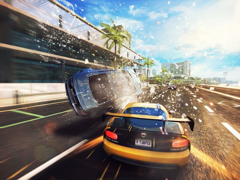 Asphalt 8: Airborne Mobile Games to Play With Friends Online